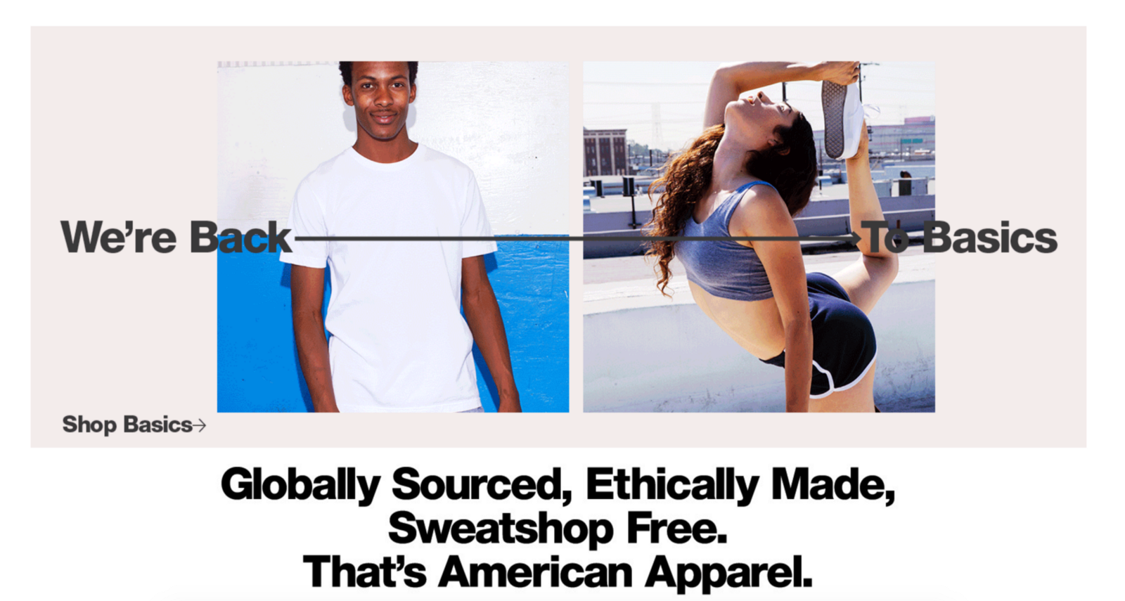 eb93c523e50 American Apparel Clothing
