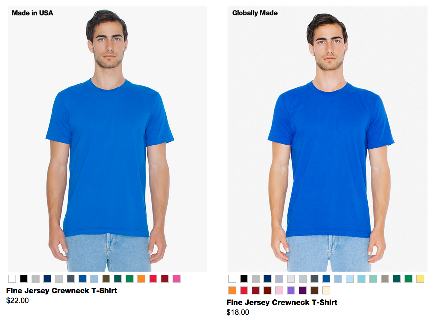 Ethically Made Sweatshop Free American Apparel Images ... - photo #1