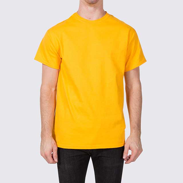 Mustard Yellow T Shirt Template